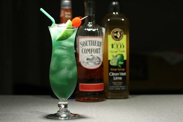 Лаймовый ураган Рецепт коктейля